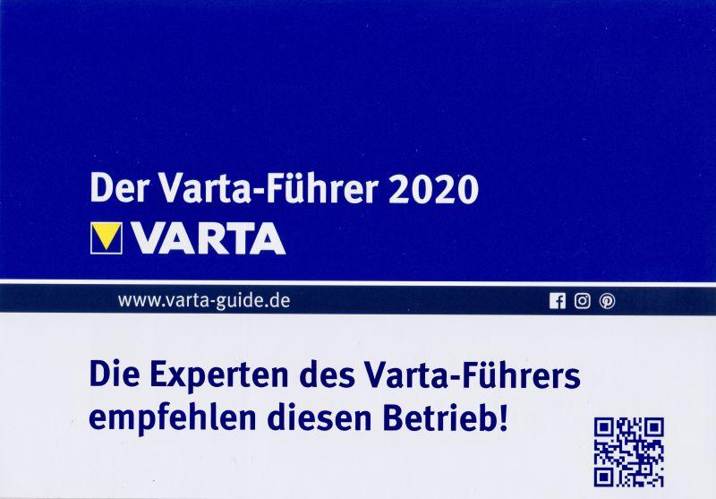 Der Varta-Führer 2020